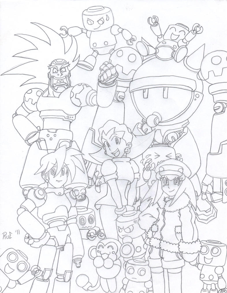 Tribute to Megaman Legends by Rueprez