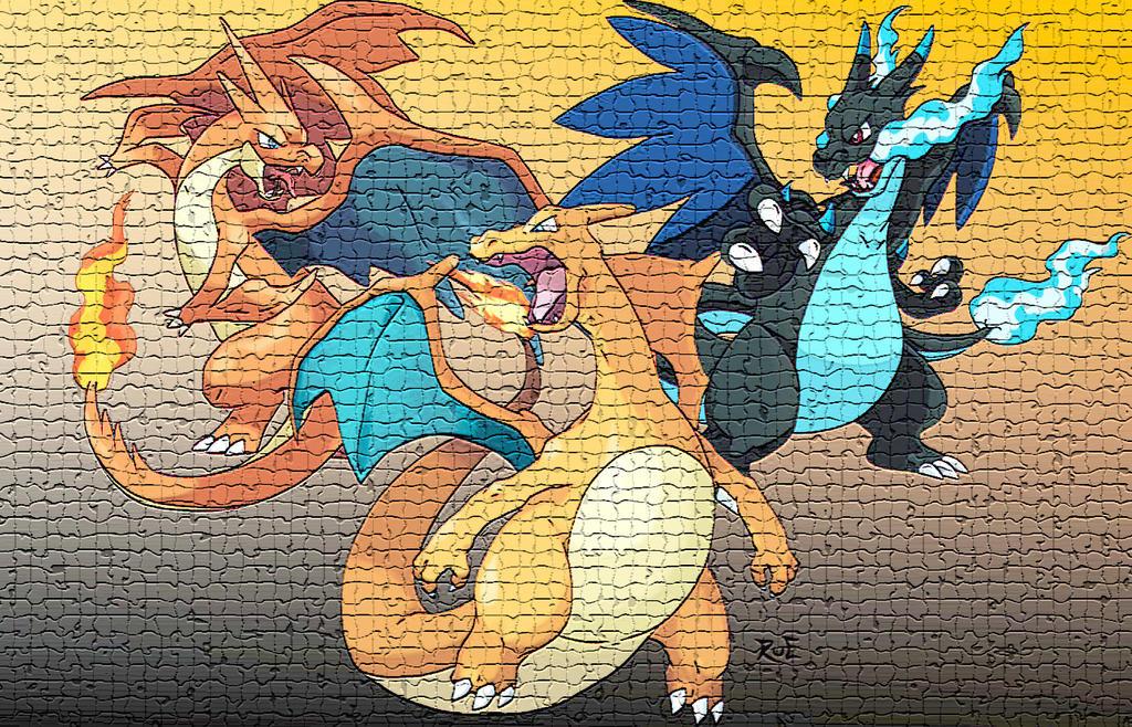 Charizards Mosaic by Rueprez