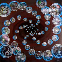 The Multiverse in God's Eye by sdelrussi