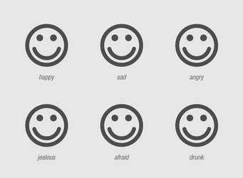 emotion chart. by shutdown