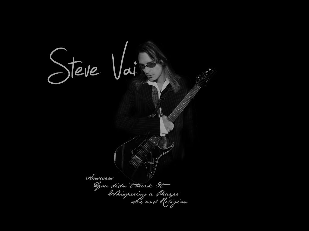 Steve Vai Wallpaper By Aaronvdw On Deviantart