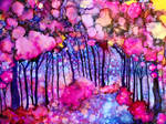 Pink Enchanted Forest