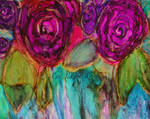 Alcohol Ink Abstract Roses