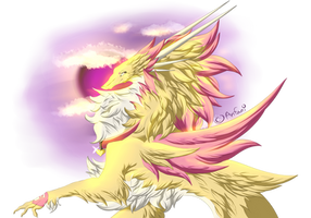 One fluffy Dragon by Anfani