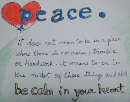 Peace. by RubyRose33