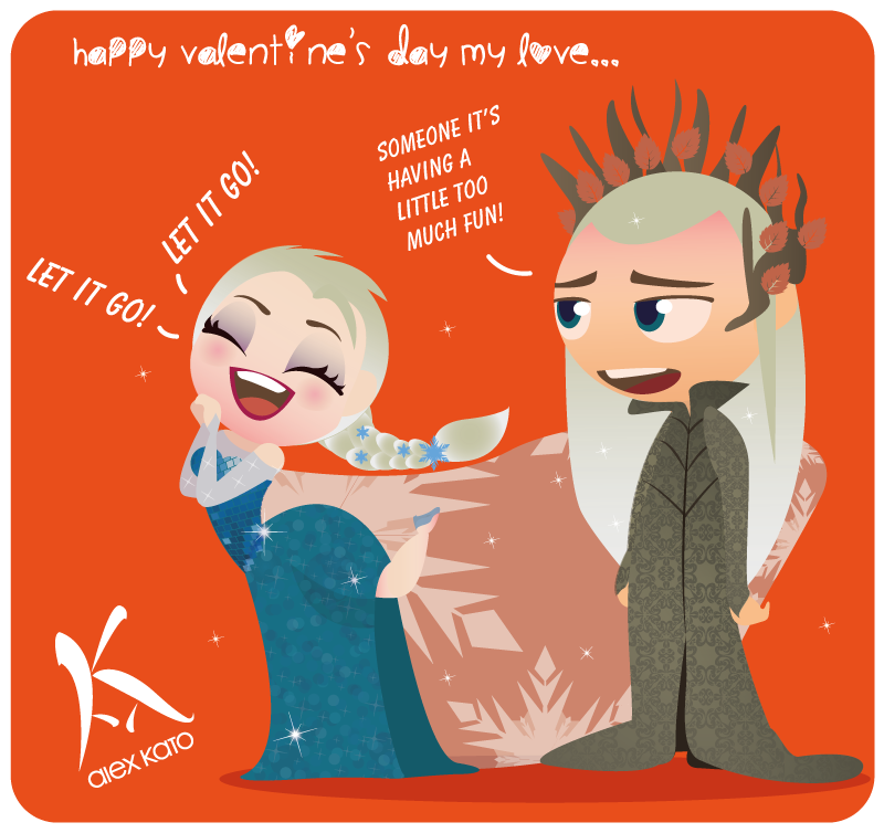 Valentine's day! by AxKato
