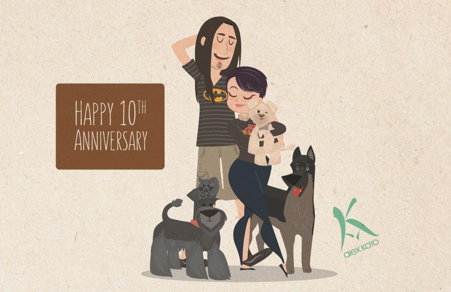 10th Anniversary by AxKato
