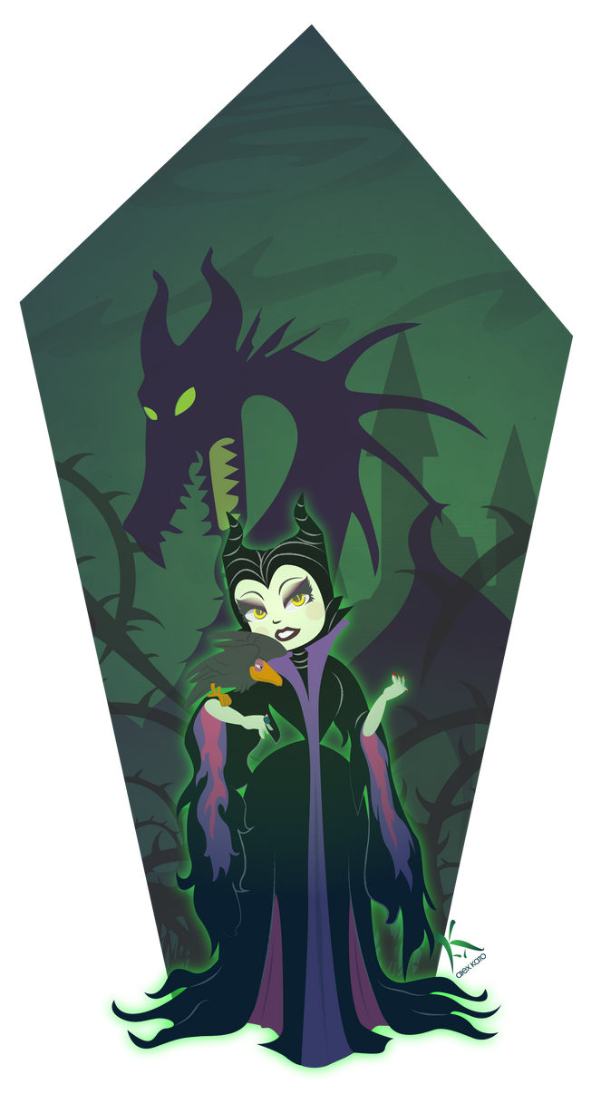 Maleficent Morning by AxKato
