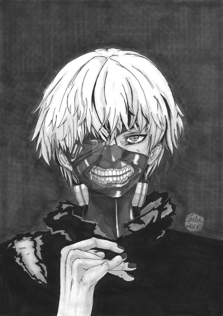 Ken Kaneki - Tokyo Ghoul (2017) by Julie-TheStrange