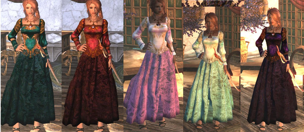 SC Noble Dress by Lesliewifeofbath