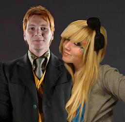 Fred And Svenskah Weasley. by Mlle-Svenskah
