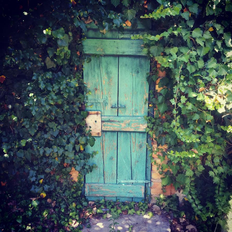 Secret Garden Door by M-Skylight on DeviantArt