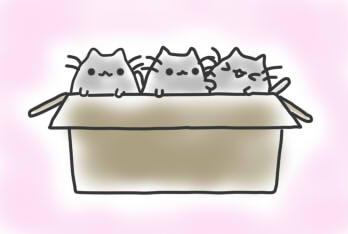 pusheen kittens by Nyatto
