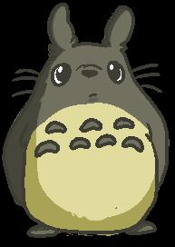 totoro by Nyatto