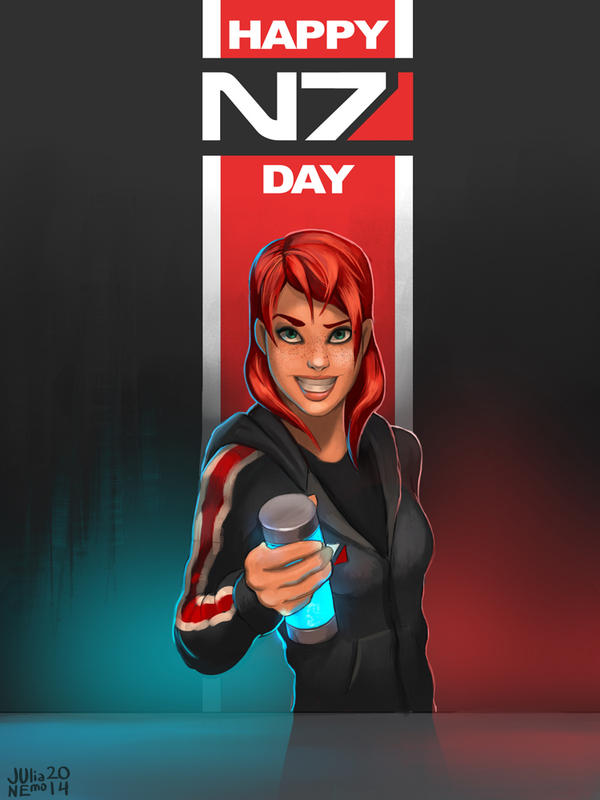 N7 day by JuliaNemo