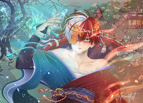Hero Academia: Yuki Spirit Todoroki