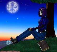 Free Day - Raven by OniCrono