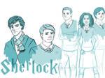 Sherlock Holmes at Hogwarts