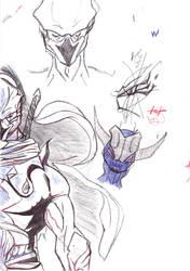 Pen Ninja by Jakcel-Shokwellz