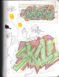 Sketches by Jakcel-Shokwellz
