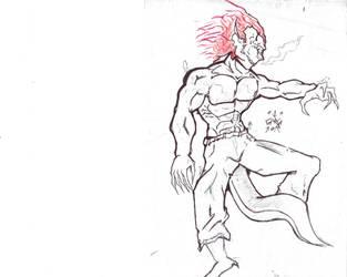 Pen Ink Goblin by Jakcel-Shokwellz