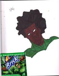 Afro Green Launtern by Jakcel-Shokwellz