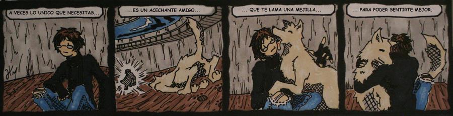 doodle's #1 lame la mejilla by atramento-negro