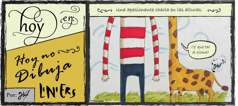 Doodle's Macanudos #5 Jirafas by atramento-negro