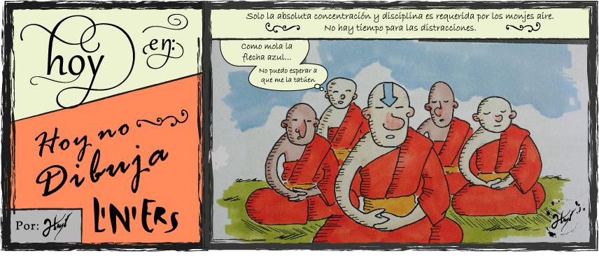 Doodle's Macanudos #6 - Meditacion by atramento-negro