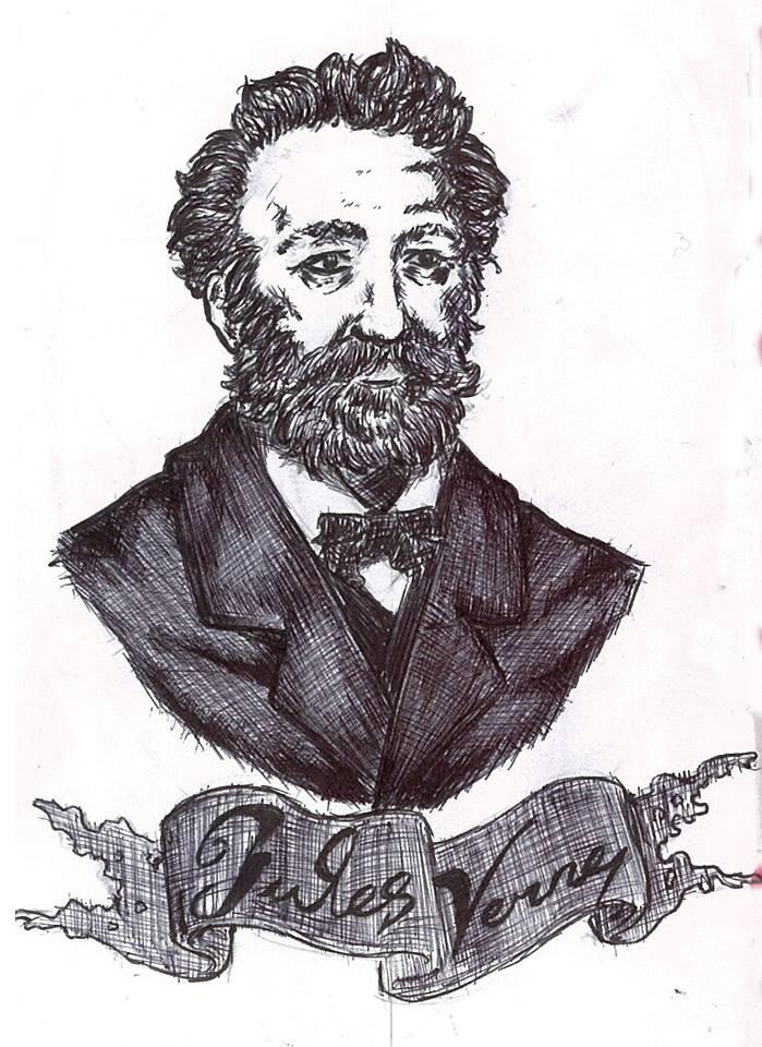 Jules Verne by atramento-negro