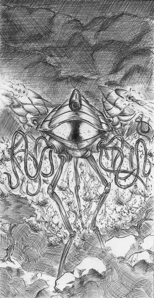 War of the Worlds by atramento-negro