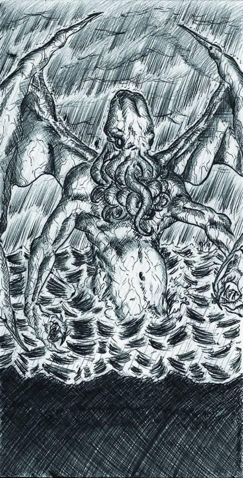 Los mitos del Cthulhu. by atramento-negro