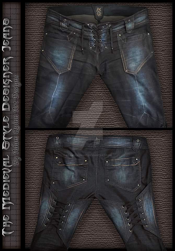 Medieval Style Mandmade Jeans  (by Adam Quinn Art) by AQart2