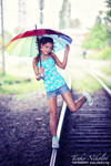 umbrella on rails