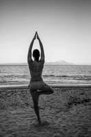 Yoga pose by athrawn