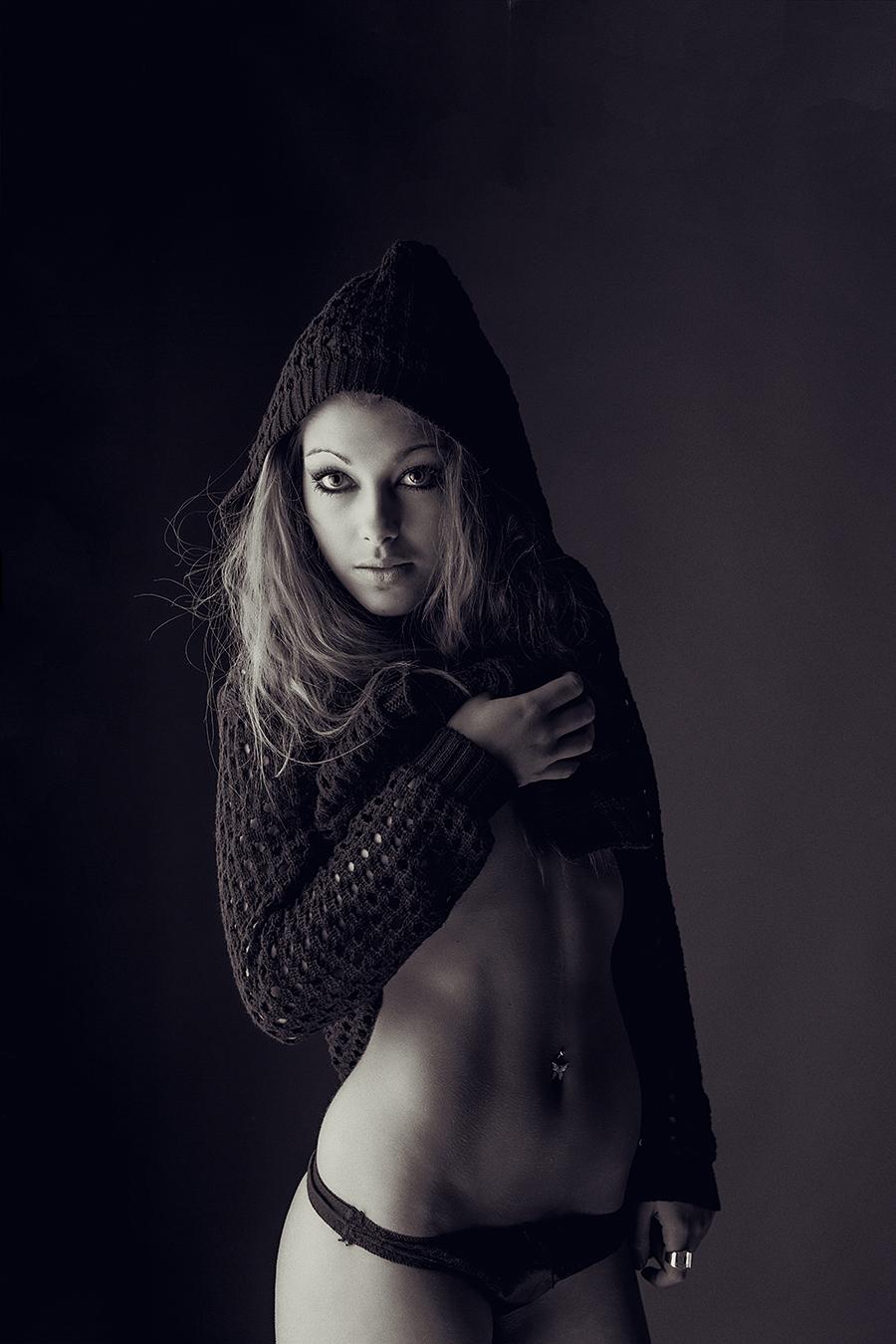 black hoodie by athrawn