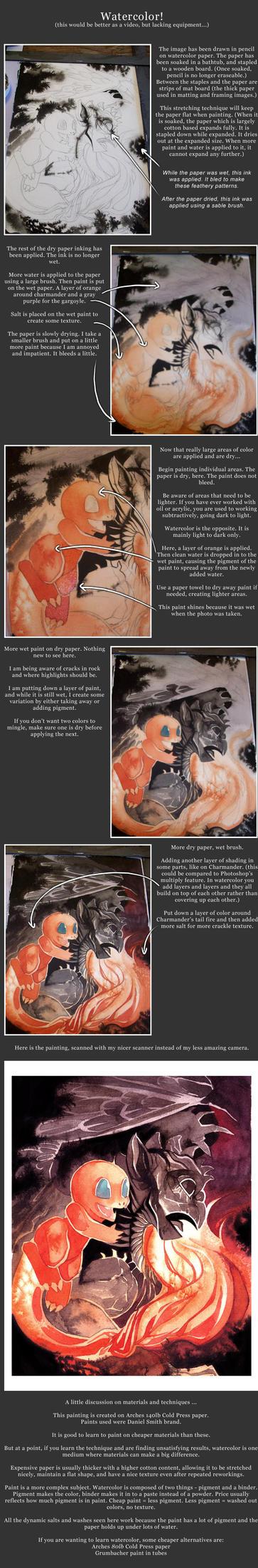 Watercolor Tutorial Part 1 by blix-it