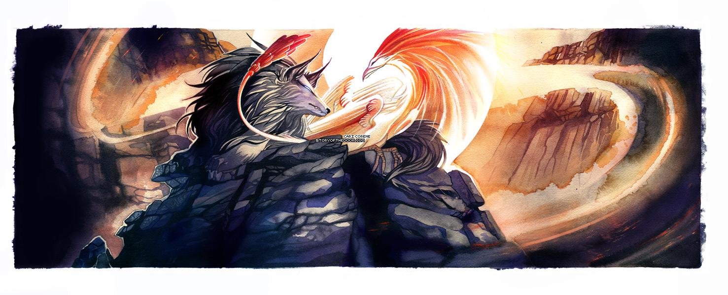 Underworld Overworld by blix-it