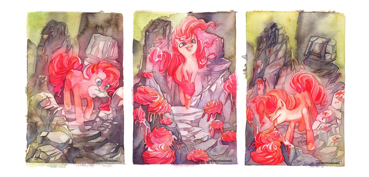 MLP Pinkie Pie's Rock Garden by blix-it