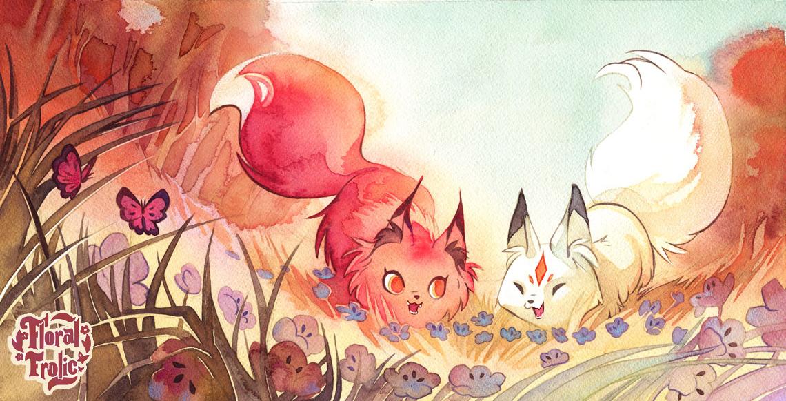Flower Pile : Screaming Children by blix-it