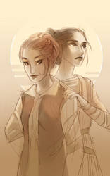 sobbing now over carrie fisher by blix-it