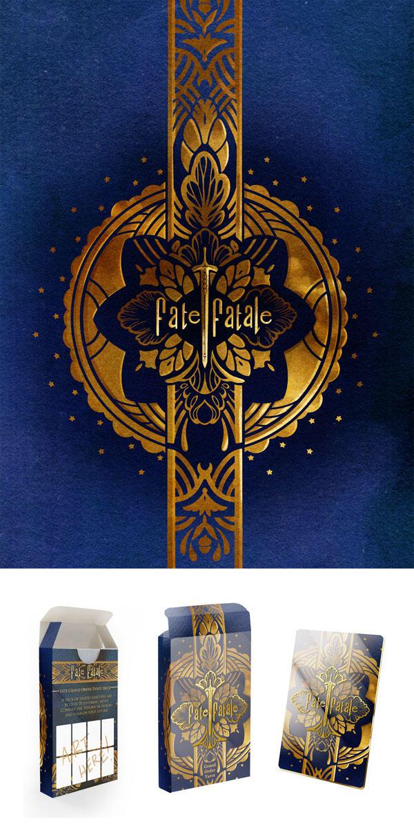 Fate Grand Order Tarot Project Box Design