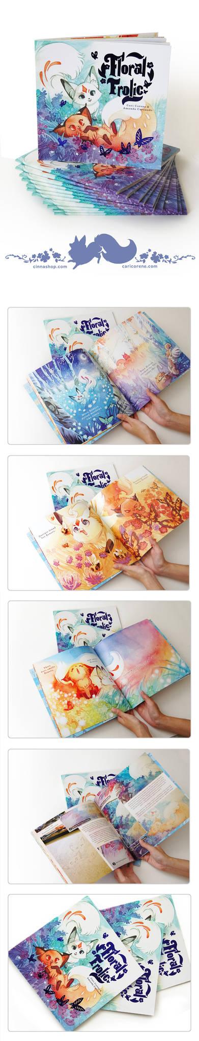 Floral Frolic Kids Book