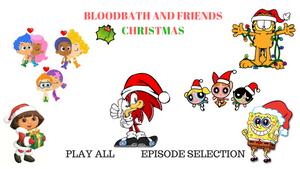 BloodBath and Friends Christmas DVD Menu