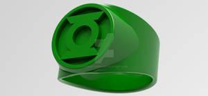 Green Lantern Power Ring 3d