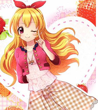 render 2   aikatsu hoshimiya ichigo by lightningwinx on