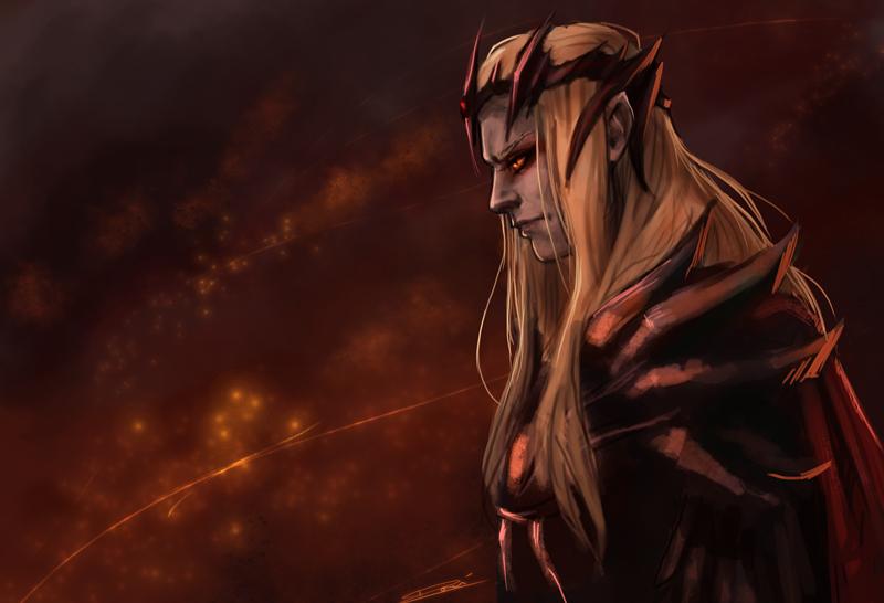 Izvir van Rhamis | En construcción Sauron___commander_of_angband_by_rosythorns-d7xqdfe