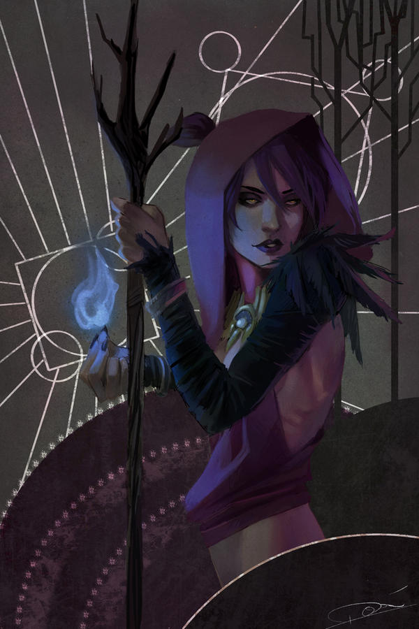 Witch of the Wilds by toherrys