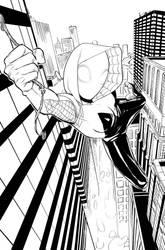 SPIDER-GWEN: GHOST SPIDER 1 Page 2 by toherrys