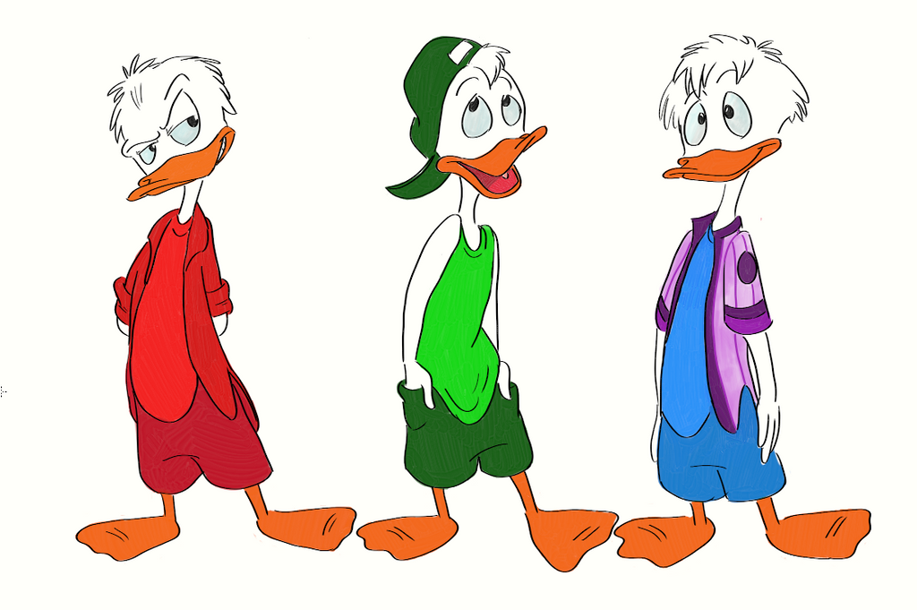 Quack Pack favourites ...